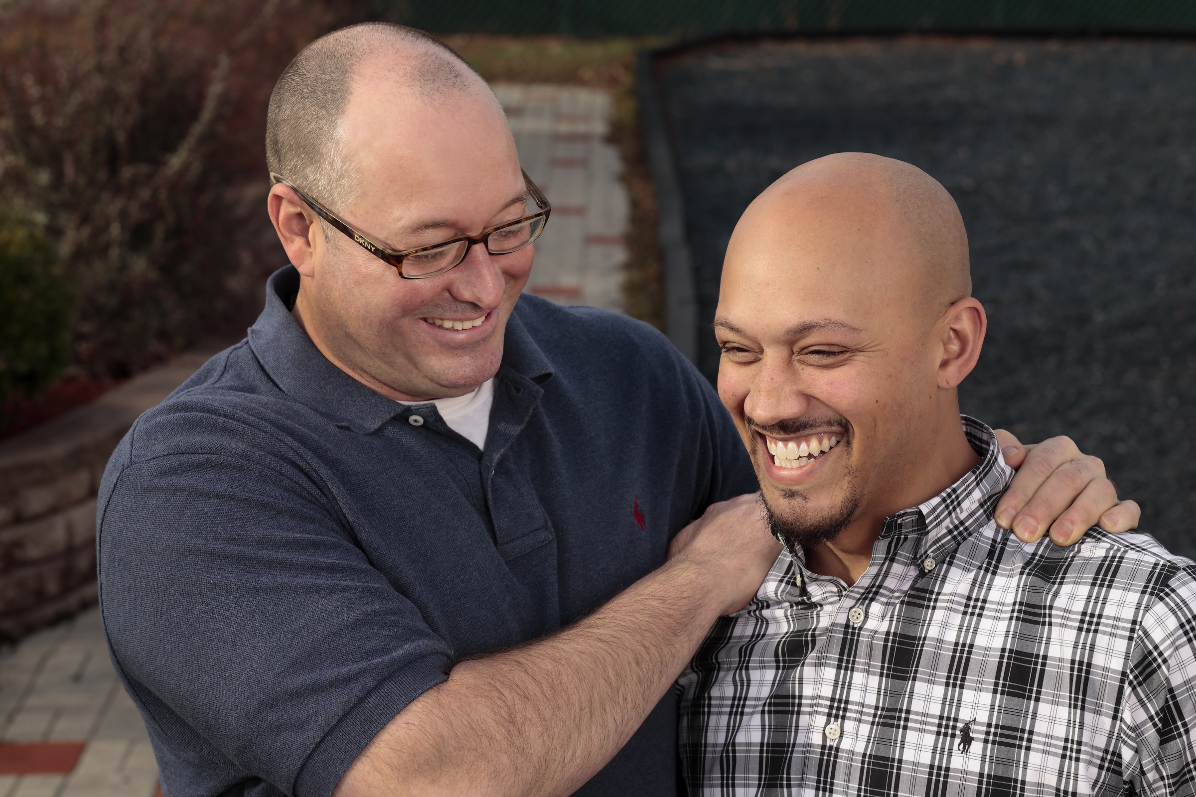 Todd and Rob, two participants in the Healing Place
