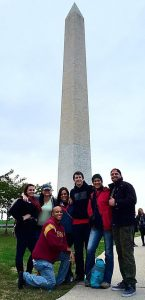 Todd picture in front of Washington monument at United to Face Addiction