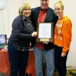 Tim Regan, CARITAS volunteer of the year