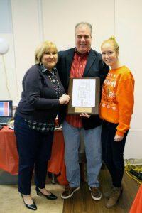 Tim Regan, CARITAS volunteer of the year