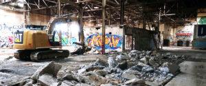 Before photos of the CARITAS Center