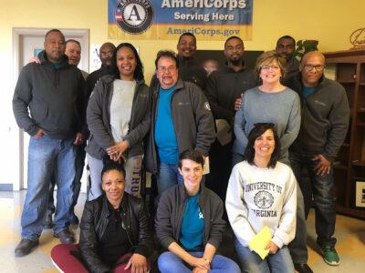 CARITAS Americorps Service Members in Richmond VA 2019
